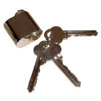 L�scylindrar och nycklar - Krom