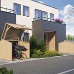 Cykelförråd Sigvard - Skydd för väder & cykellånare!