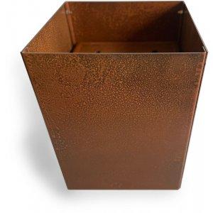 Cortenstål kruka kvadrat - 40x30x30 cm