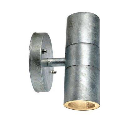 Drömsjö Vägglampa 2 - Galvaniserad metall