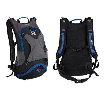 Ryggsäck för cyklister Aerofit 51x31x12 cm - blå