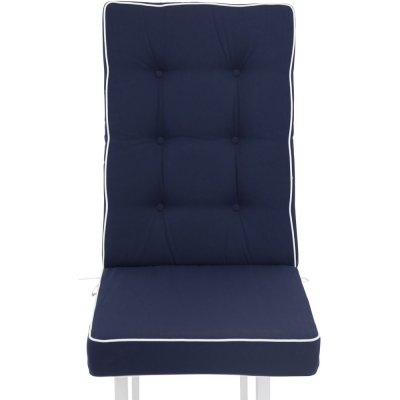 Mura högrygg sittdyna - Blå