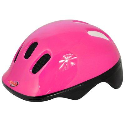 Cykelhjälm Happy Reflex Pink