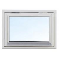 2-glas överkantshängt träfönster - 1-Luft