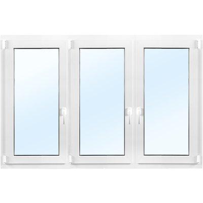 PVC-fönster | 2-glas | 3-luft | Inåtgående | U-värde 1,2