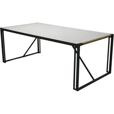 Tornsborg matbord – Svart/grå