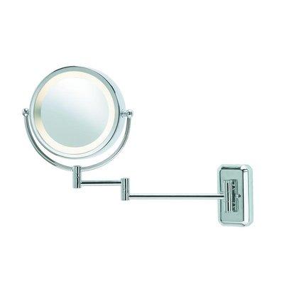 Fjället Vägglampa med spegel - Krom