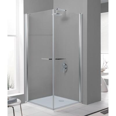 Duschhörna Prestige III - 6mm glas (in- & utåtgående dörrar)