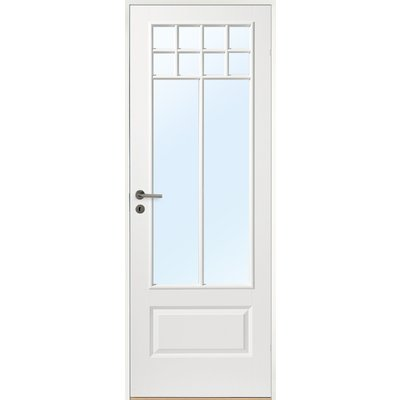 Innerdörr Gotland - Kompakt dörrblad med stort glasparti SP10S