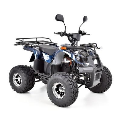 Fyrhjuling 1200 W - Blå
