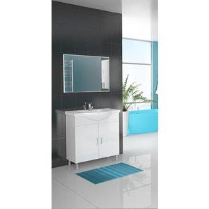 Möbelpaket Alba 80 vit med spegel
