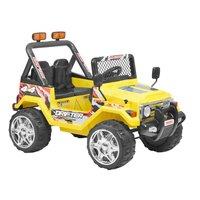 Eldriven gul terrängbil för barn - 10Ah