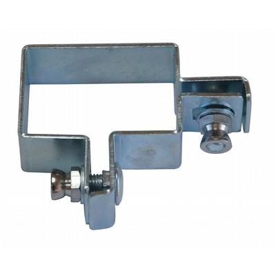 Panelfäste Industrial - hörn (silver/galvaniserat) - 60x40 mm
