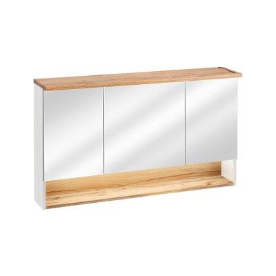 Spegelskåp med LED-belysning Bahama 843 - vit