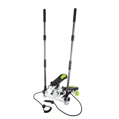 Trappmaskin - Med träningsband & träningsdator (svart-grön S3096)