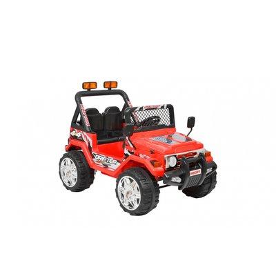 Eldriven röd terrängbil för barn - 10Ah