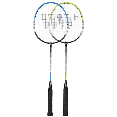 Badmintonset (grön, blå & svart) ALUMTEC 216K