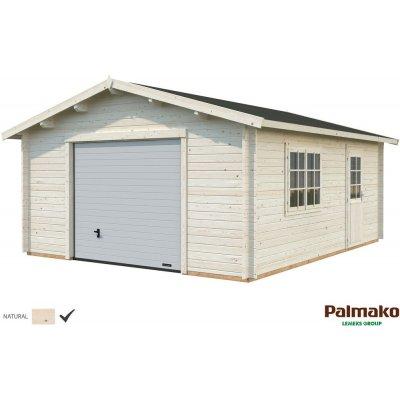 Garage Roger med takskjutport - 23,9 m²
