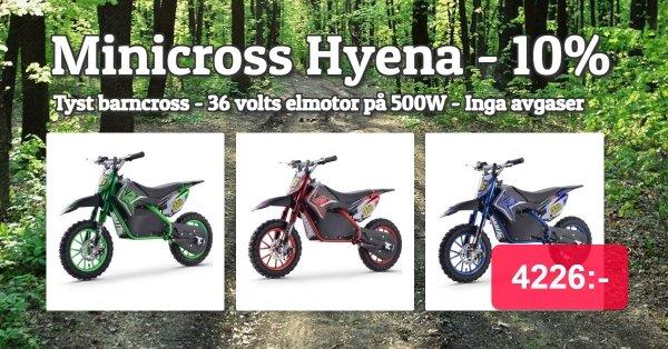 Minicross för barn - Eldriven - 4695 kr