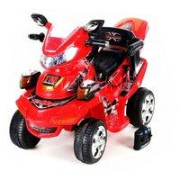 Röd motorcykel för barn - Med fjärrkontroll