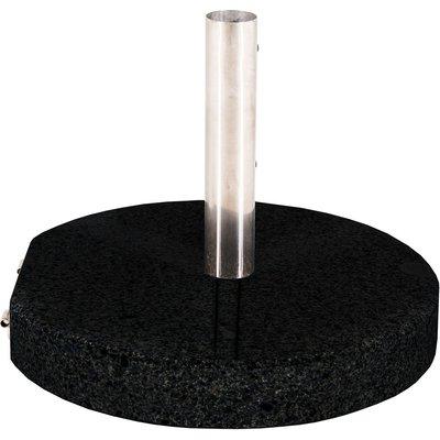 Hemsjö rund parasollfot – Granit