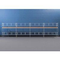 Byggnadsställning HAKI Ram 12x4 m - Aluminium