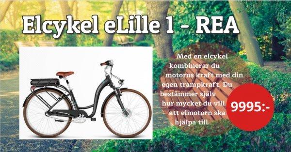Elcykel - Toppenpris 9995:-