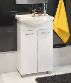 Tvättställsskåp Pik, med tvättställ