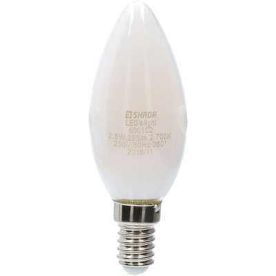 LED lampa C35 E14 225lm 2700K