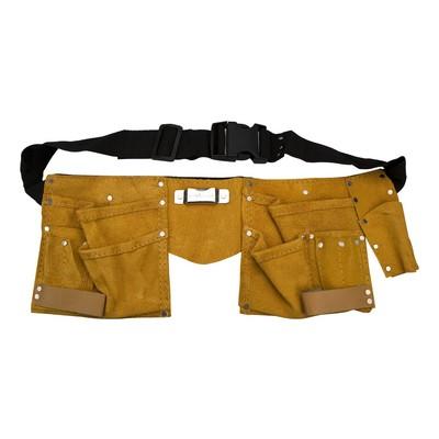 Verktygsbälte / Snickarbälte i läder
