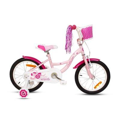 """Cykel D\\\'Goose 16\\\"""" - Sweetie - rosa"""