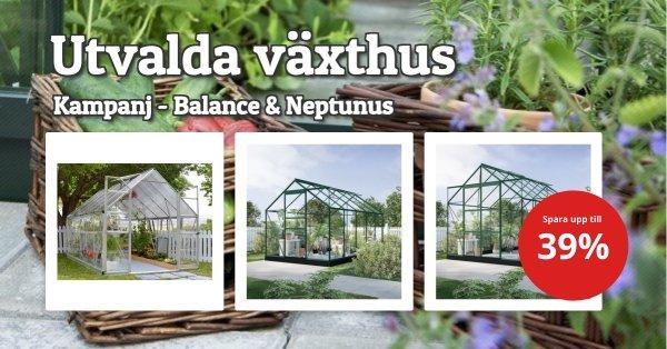 Växthus - Utvalda - Bra priser!