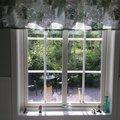 Vridfönster med bågpost - 3-glas - Aluminium - U-värde: 1,1