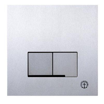 Gustavsberg Väggtrycke Triomont XS duo rostfri