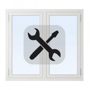 Installation av sidhängt fönster utan ROT-avdrag