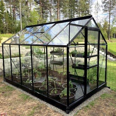 Växthus Neptunus - 6,2 m²