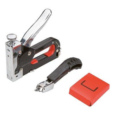 Häftpistol, 6-14 mm & klammerborttagare
