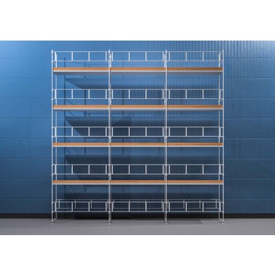 Byggnadsställning HAKI Ram 9x10 m - Aluminium