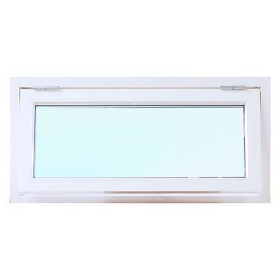 3-glas överkantshängt aluminiumfönster utåtgående - U-värde 1,1