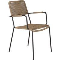 Djurröd - stol – Svart/beige