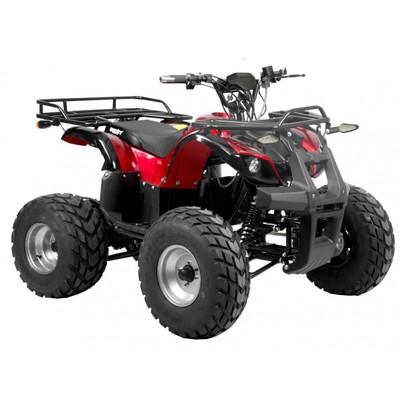 Elektrisk ATV - Rage - Röd metallic