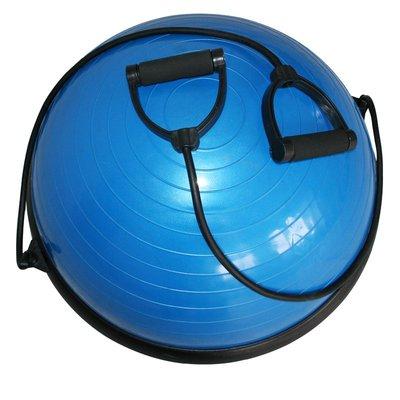 Balansboll - Halvklot med träningsband