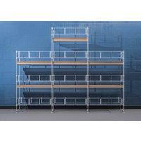 Byggnadsställning HAKI Ram 9x6 m + Gaveltopp - Aluminium