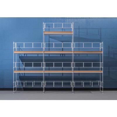Byggnadsställning HAKI Ram 9x6 m + Gaveltopp - Stål