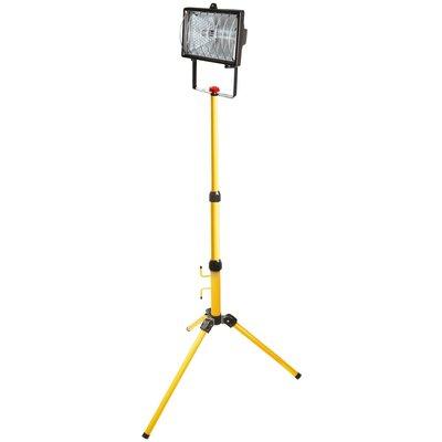 Halogenstrålkastare med stativ 400 W