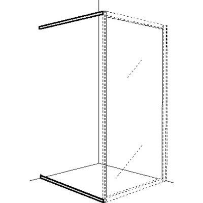 Ifö Solid golv- och draperilist SVGD