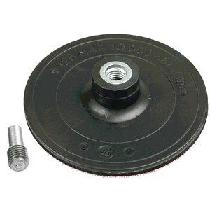 Gummiskiva, självhäftande, 125 mm
