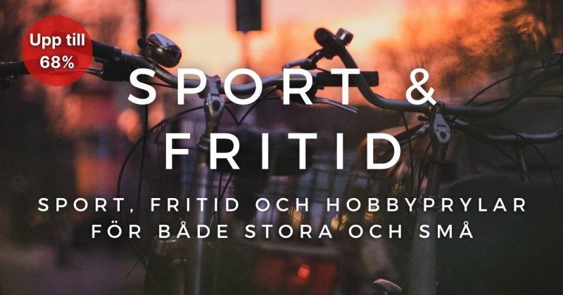 Sport & Fritid - Upp till 68%