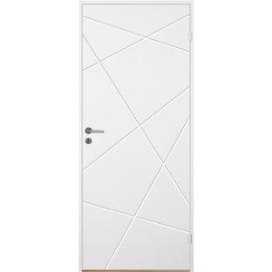 Innerdörr Bornholm - Kompakt - Spårfräst dekor A11