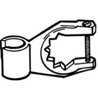 Gustavsberg Handduschupphängare för blandare 150 c-c
